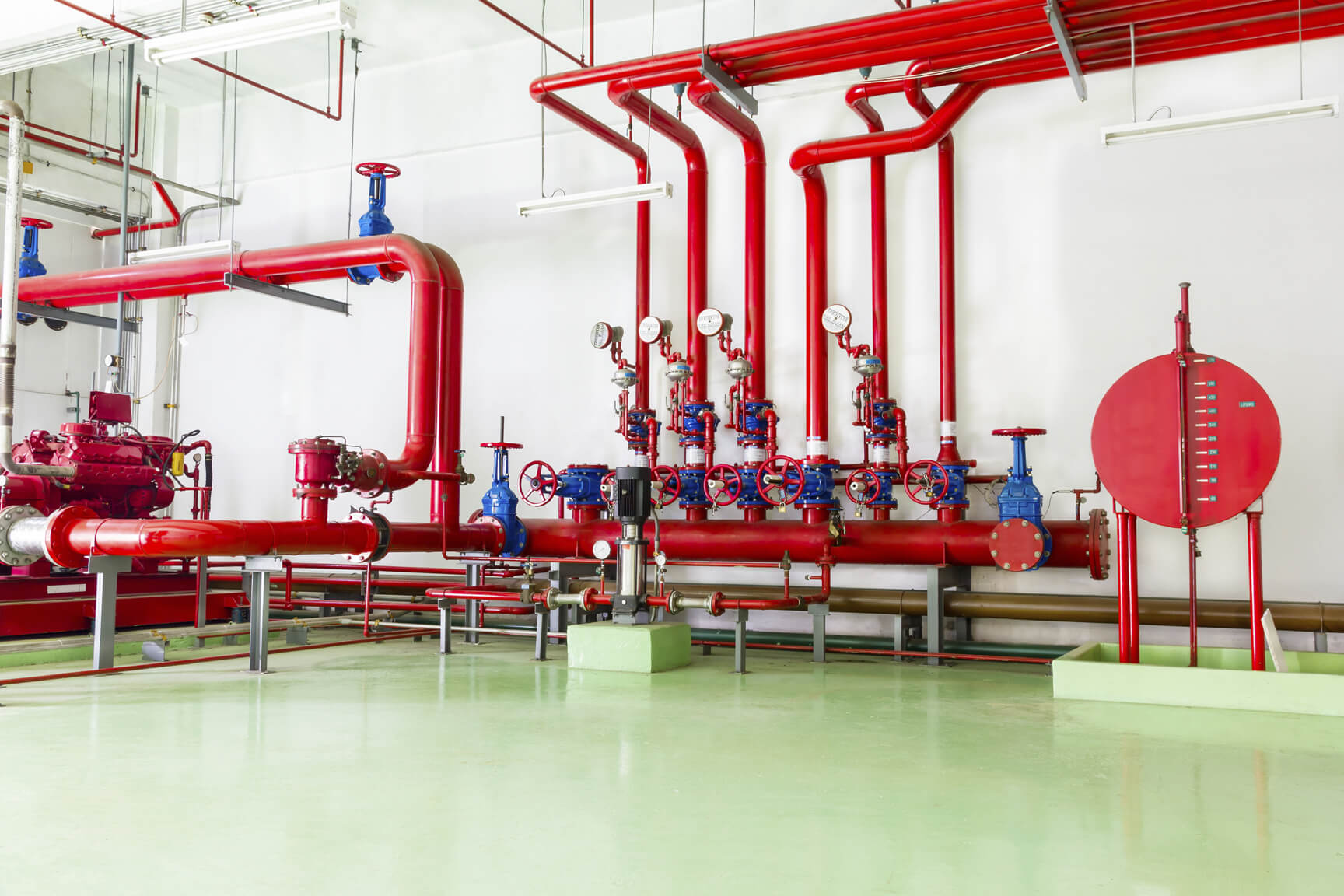Dry pipe fire sprinkler systems company